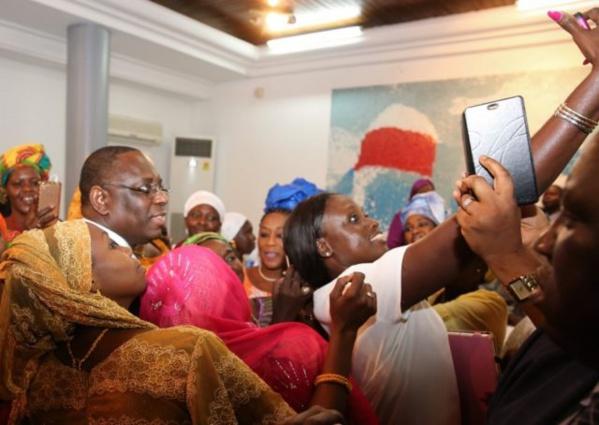 Macky Sall aux leaders de Macky 2012 : «Le sondage m'attribue 54%, mais je veux plus»