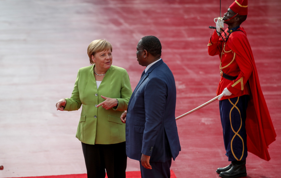 Les images du tête-à-tête entre Macky Sall et Angela Merkel