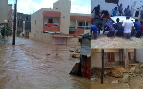 Dégâts collatéraux de la pluie : 1 mort et plusieurs blessés à Pikine, manifestation de colère à Touba