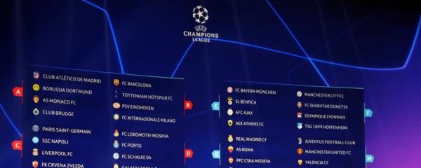 LIGUE DES CHAMPIONS : tirage acceptable pour les clubs français