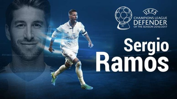 Ramos meilleur défenseur 2017-2018
