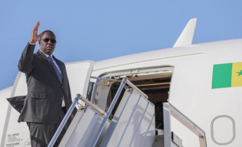 Macky Sall a quitté Dakar pour Beijing