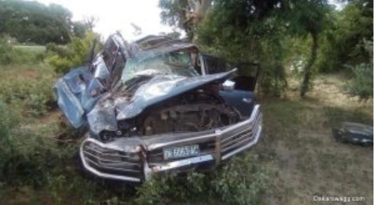 05 Photos: Les images de l'accident du journaliste Ndéné Biteye de Walf