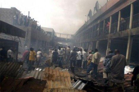 Incendie du marché central de Rufisque Des millions partis en fumée