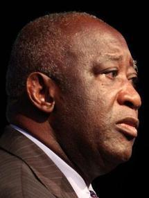 Portraits d'Alassane Ouattara et Laurent Gbagbo