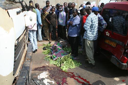 Grave accident routier à Khombole: Cinq morts sur le coup
