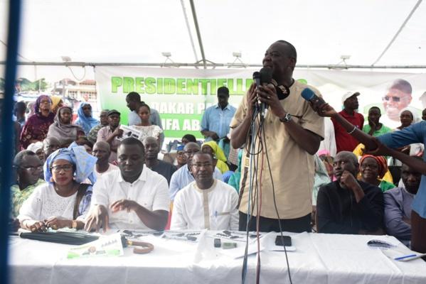 Présidentielle E 2019: Les pro Khalifa Sall lancent leur campagne de collecte et visent 100.000 parrains rien qu'à Dakar