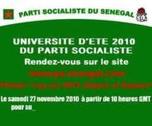 Décentralisation des actvités politiques : Après Saint-Louis les socialistes se retrouvent à Fatick