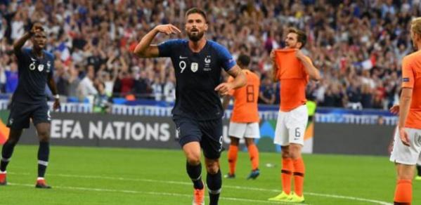 Olivier Giroud dépasse Zinédine Zidane avec 32 buts