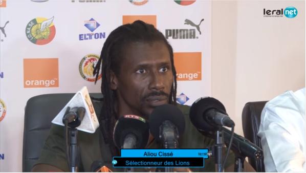 Aliou Cissé ne lâche toujours pas Ferland Mendy, Sada Thioub dans son viseur