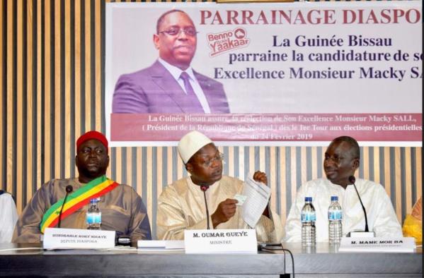 La Guinée Bissau se met au parrainage : 4 000 parrains en faveur de Macky Sall
