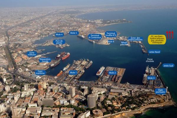 Le port minéralier et vraquier de Bargny - Sendou en eaux troubles