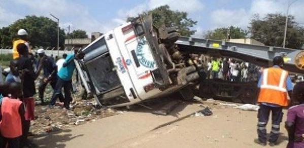Drame à Bakel: 1 mort et 41 blessés dans un accident