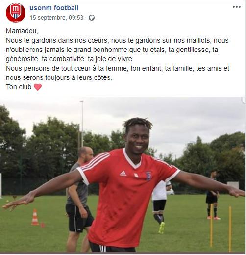 France : Un footballeur sénégalais décède à l'entrainement