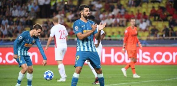 Ligue des champions : Monaco renversé par l'Atlético de Madrid au stade Louis-II