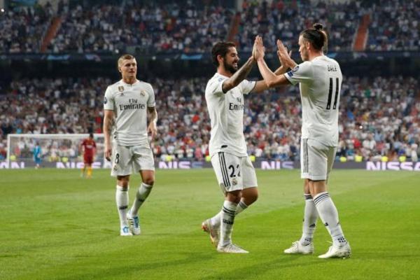 Impérial, le Real Madrid écoeure l'AS Rome