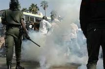 Manif contre les délestages : des policiers ont été blessés