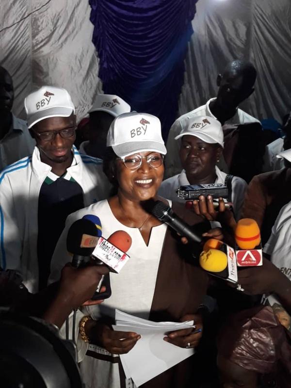 """Le candidat Macky Sall est le meilleur"" Ndèye Ticket Ndiaye Diop"
