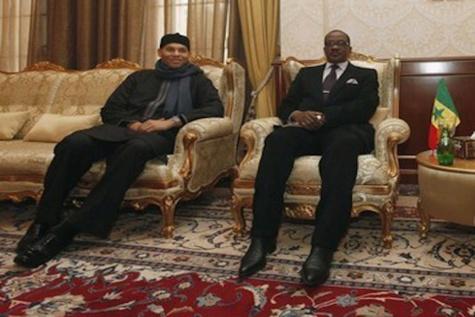 Doha : Wade et fils déroulent le tapis rouge à Madické