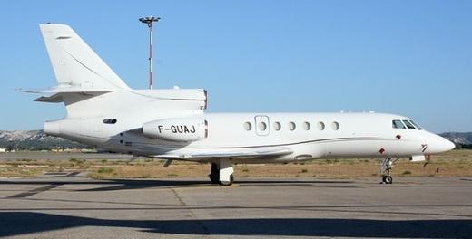 [ PHOTOS ] Le Jet privé du ministre Karim Wade