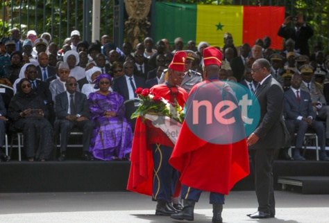 Photos- Revivez en image la cérémonie d'hommage National à Bruno Diatta de A à Z