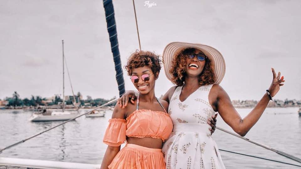 Voici la belle Anta Babacar Ngom avec sa soeur Coumba