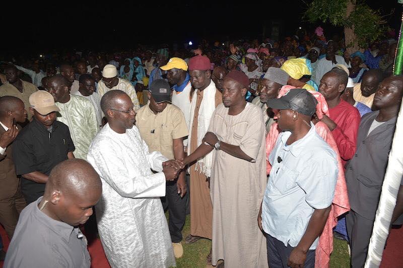 En route vers le deuxième mandat de Macky Sall : Mr le Premier ministre en visite chez Le Haut conseiller Aliou Sow à Keur Pathé région de Kaffrine