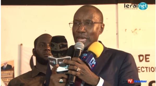 """Parrainnage à Louga: Mamour Diallo """"détruit""""  les chiffres avancés par le ministre Moustapha Diop"""