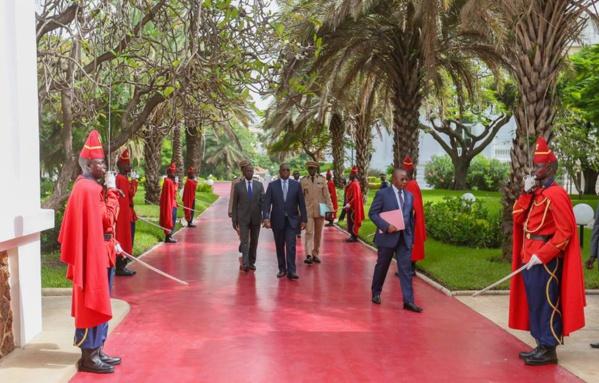 Conseil des ministres : Macky inaugure la salle Bruno Diatta