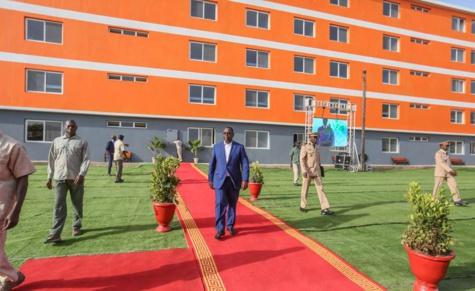 Photos : La capacité d'accueil de l'UCAD est désormais de 10 876 lits