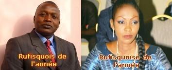 Rufisque : Oumar Gueye et Coumba Gaye désignés rufisquois et rufisquoise de l'année 2010