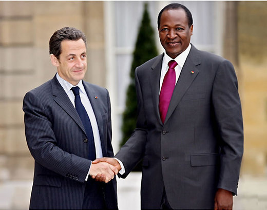 Pour préparer l'attaque contre la Côte d'Ivoire : Sarkozy reçoit Compaoré aujourd'hui à l'Elysée