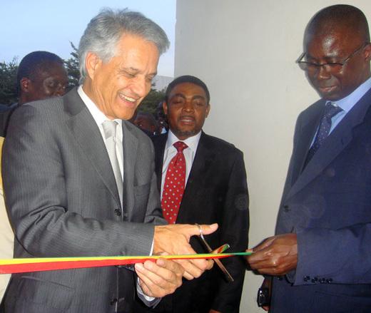 Le président de l'IRD, Michel Laurent, en visite au Sénégal
