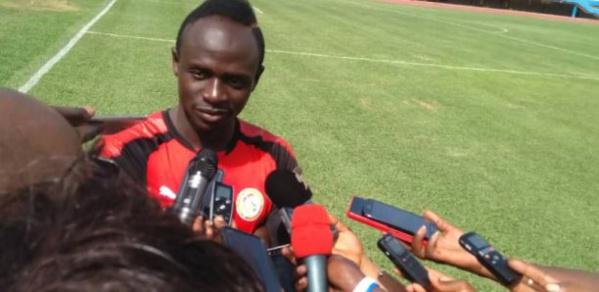 Sadio Mané : « On veut la victoire pour notre public »