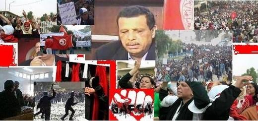 Une « caravane de la libération » est entrée dans Tunis