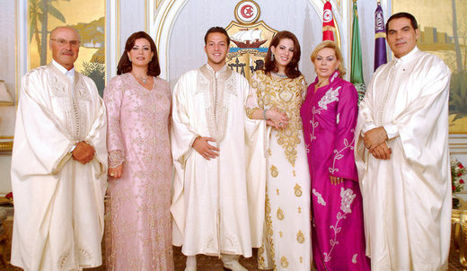 Leila Trabelsi, l'épouse qui se joue de son mari de Président Ben Ali,le tout dans la clandestinité
