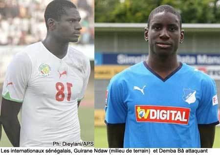 Demba Ba et Guirane Ndaw apportent de bonnes nouvelles à la Tanière