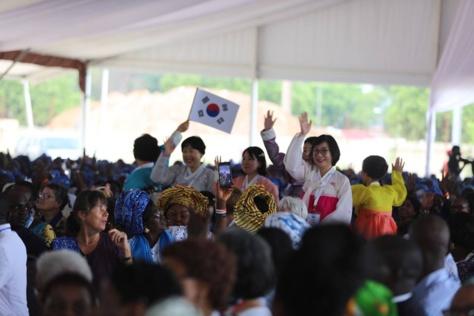 Photos : Macky Sall à l'ouverture de l'Assemblée générale de l'Union mondiale des organisations féminines catholiques