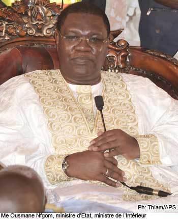 Ousmane Ngom, ministre de l'Intérieur : « Le président de la République a inculqué aux sénégalais la culture de la revendication »