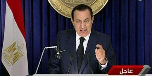 Egypte : Moubarack annonce qu'il ne briguera pas un nouveau mandat