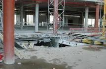 Mbane : l'effondrement de la charpente du chantier fait 5 morts