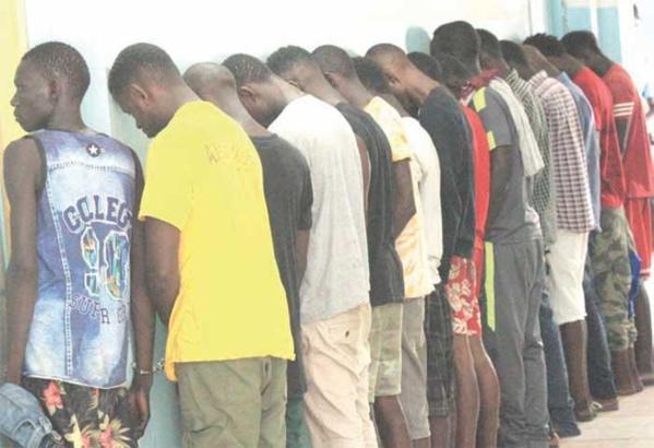 Veille de la tournée de Macky Sall à Ziguinchor: 98 personnes, dont 6 prostituées arrêtées et 115 véhicules mis en fourrière…