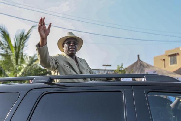 Début de la tournée économique du président Macky Sall dans le Sud