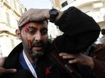 En Egypte, les journalistes pris pour cibles