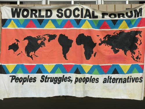 Dakar : Une marche pour ouvrir le Forum social mondial