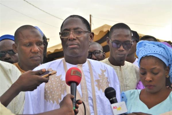 Podor : Commune de Ndioum : Responsables et militants de L'APR derrière leur leader le Docteur Alassane Ndiaye