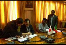 Seize nouveaux volontaires japonais prêtent serment au Sénégal
