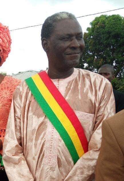 Le député Malamine Gomis avant sa mort:
