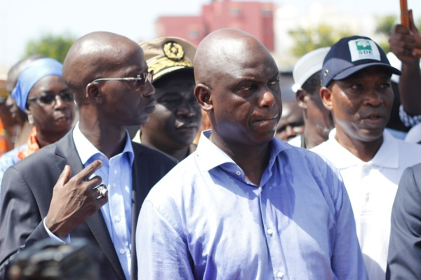 Touba: Le cortège du ministre Mansour Faye fait un accident