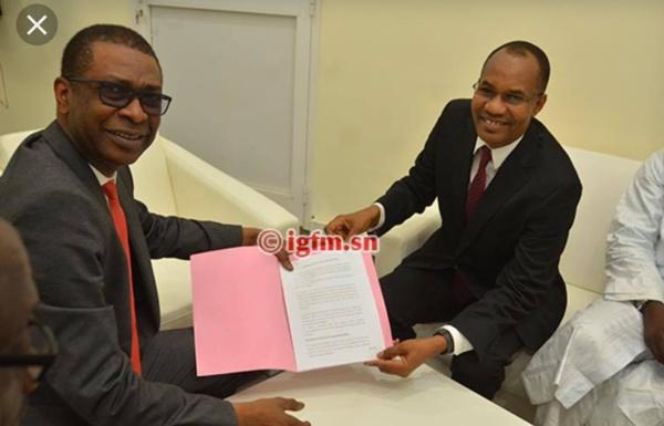 Départs de GFM : Lansana Gagny Sakho salue le leadership fort et la vision de Youssou Ndour